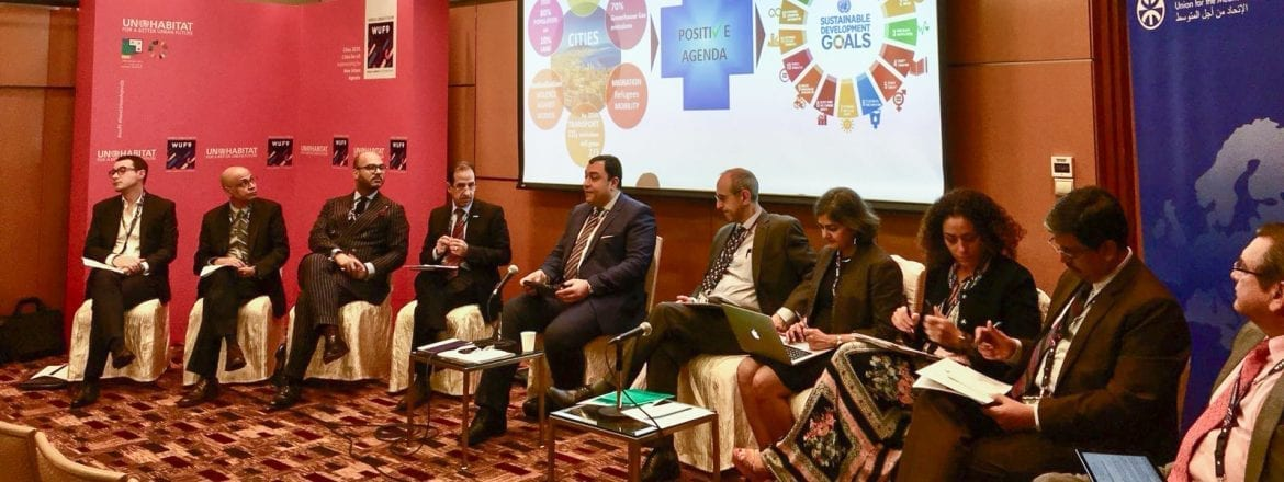 The UfM at the Ninth World Urban Forum: Towards Implementing